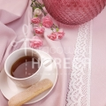 powder pink stain-resistant tablecloth Porto