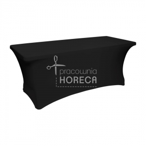 elastic catering table cover 180x75 cm