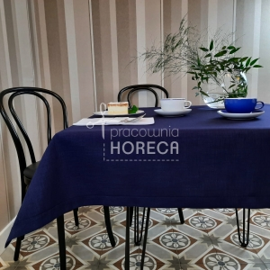 navy blue stain-resistant tablecloth Porto