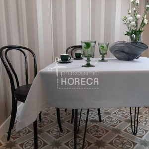 ashen gray stain-resistant tablecloth Porto