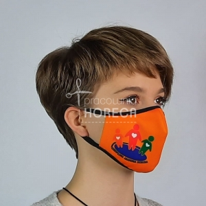 protective mask with your logo - minimum 10 pc.