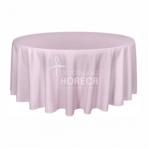 powder pink stain-resistant tablecloth Porto 280 cm
